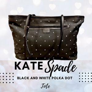 Kate Spade Polka Dot Tote Bag